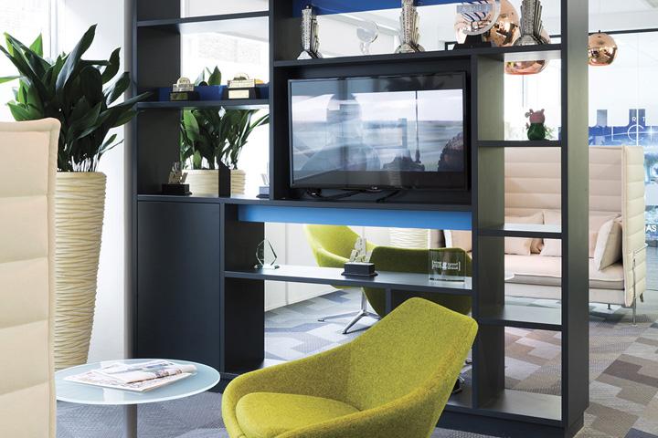 英国伦敦Entertainment娱乐总部办公室设计