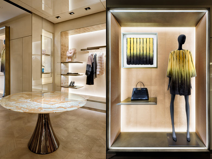 187 Fendi Flagship Store By Curiosity London Uk