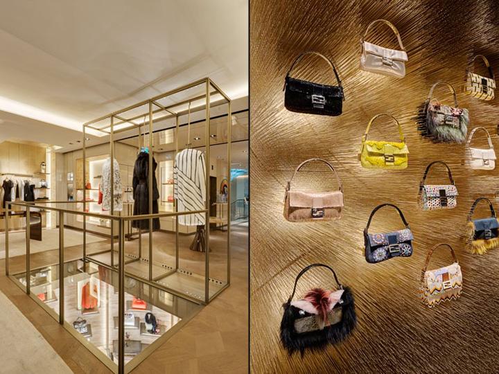 英国伦敦FENDI女装旗舰店设计