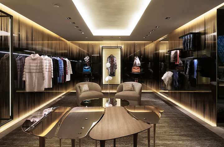 9feaad9e43c4 » FENDI flagship store by Curiosity, London – UK