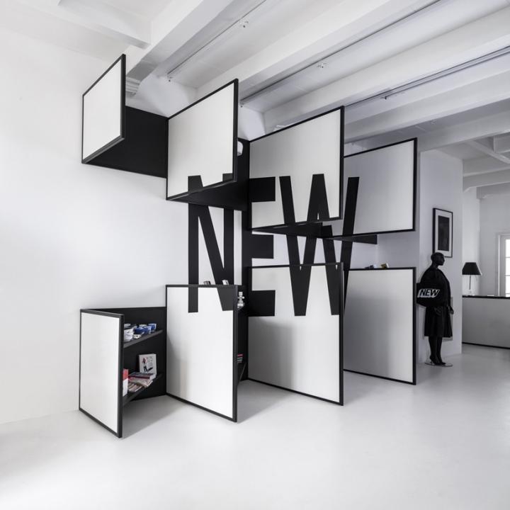 荷兰阿姆斯特丹–FRAME 概念服装店设计