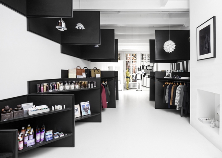 Frame store by i29 architects amsterdam netherlands Interior design shops amsterdam