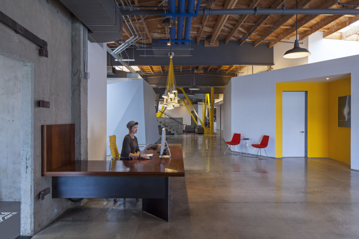Framestore offices by david howell design rac design for Recycled building materials los angeles