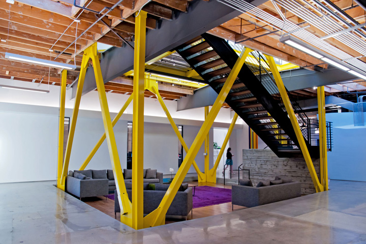 Framestore offices by David Howell Design & RAC Design Build, Los ...