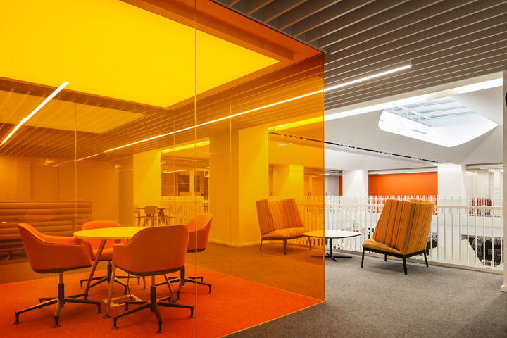 187 Glg Global Headquarters Office By Clive Wilkinson