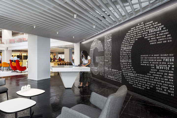 glg全球总部办公室设计