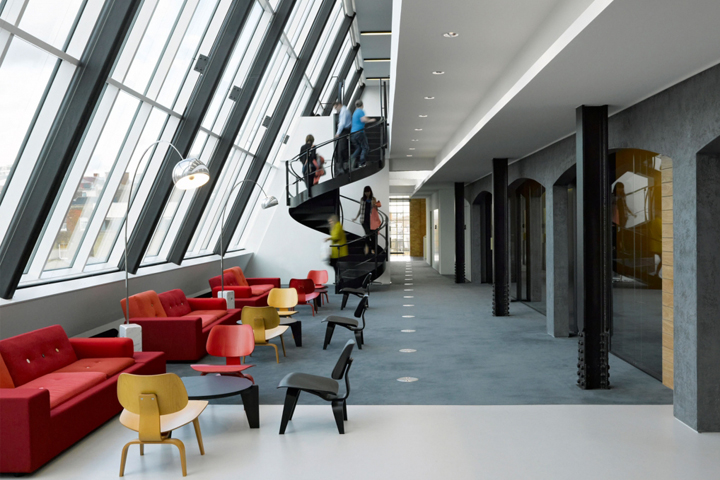 What do the employees want when it comes to strategic for Office design london