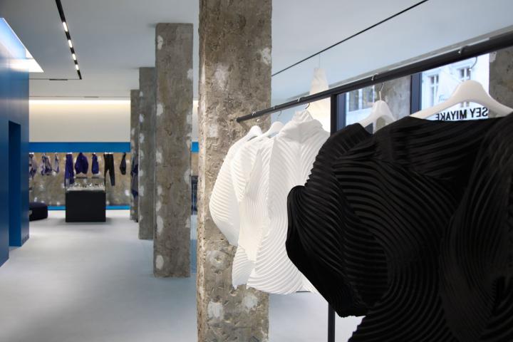 英国伦敦IsseyMiyake女装概念店铺设计