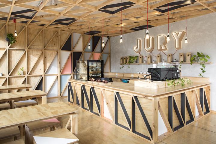 墨尔本–澳大利亚Jury Cafe 咖啡厅设计