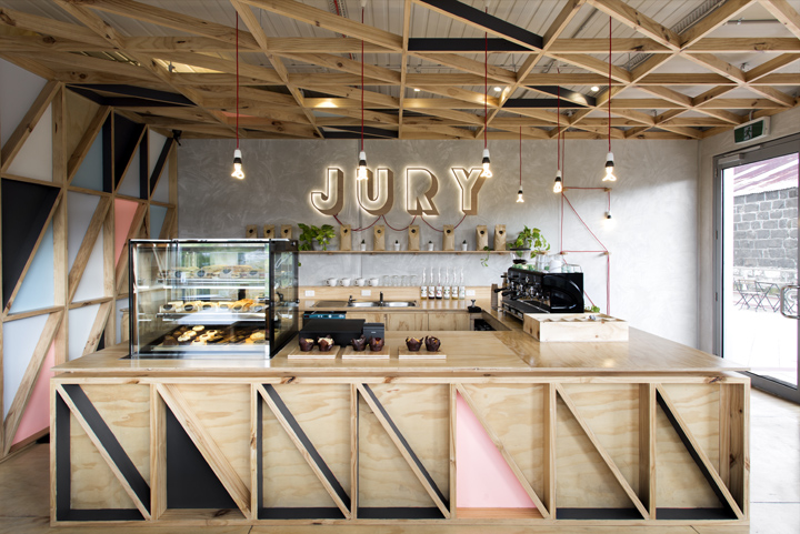 Jury cafe by biasol design studio melbourne australia for Australian design studio