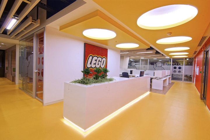Lego office by oso architecture istanbul turkey for Best interior design firms in the world