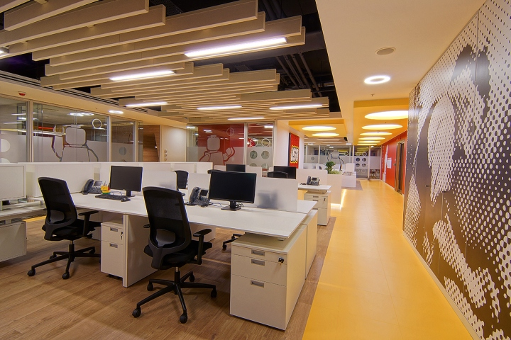 Lego office by OSO Architecture Istanbul Turkey Retail Design