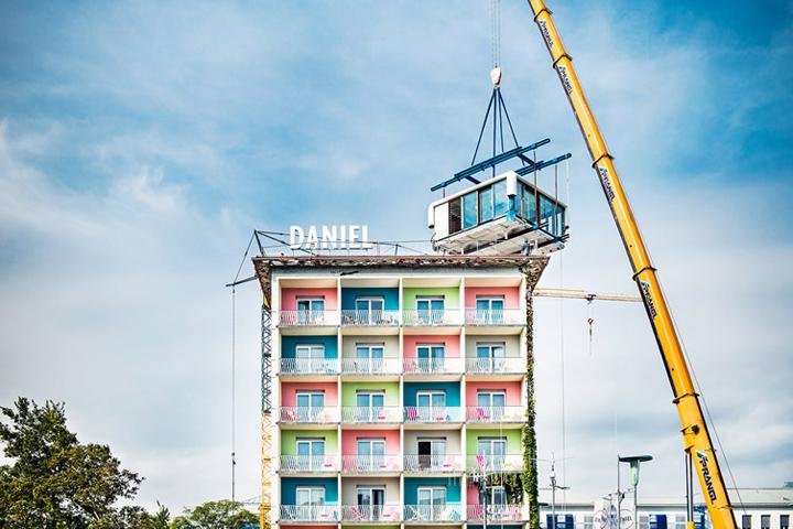 Loftcube by studio aisslinger graz austria retail for Designhotel graz