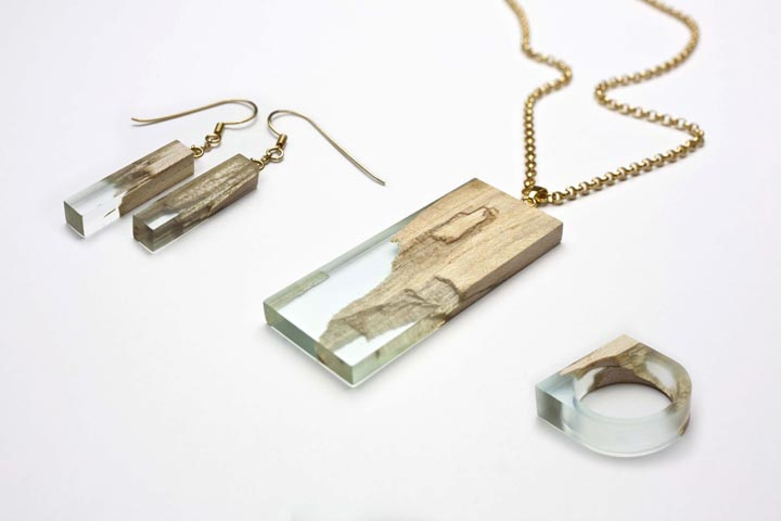 Manufract handcrafted jewelry by Dunger Design Retail Design Blog