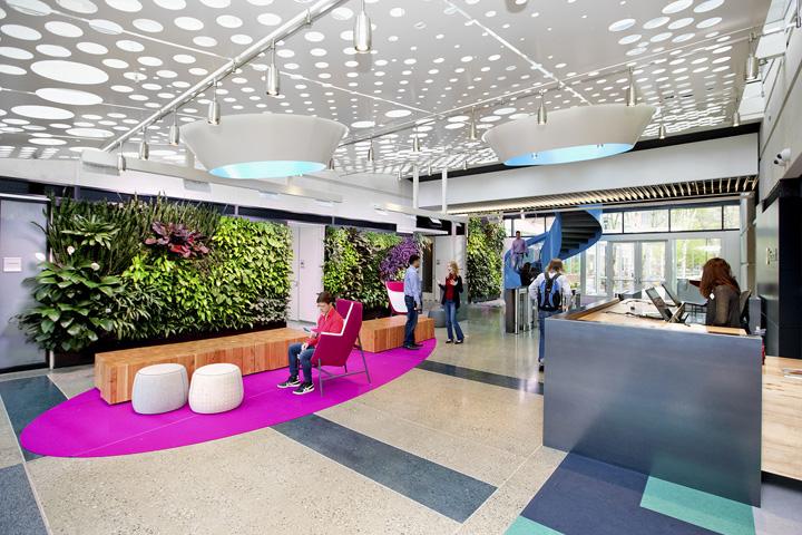 microsoft building b44 by zgf architects, redmond – washington, Innenarchitektur ideen