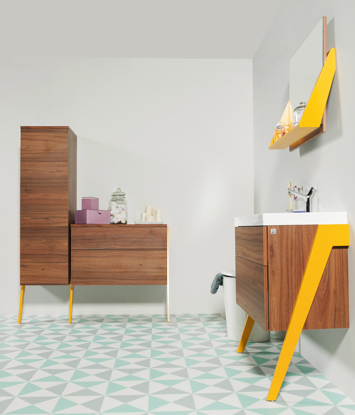 Op Arty Bathroom Furniture Collection By Olga Mężyńska U0026 Milena Wójcik