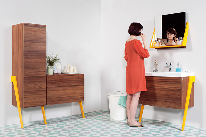 Elegant Op Arty Is A Collection Of Bathroom Furniture Inspired By The 60u0027s. It  Consists Of Nine Elements, Which Can Be Freely Compiled To Create Your Own,  ...