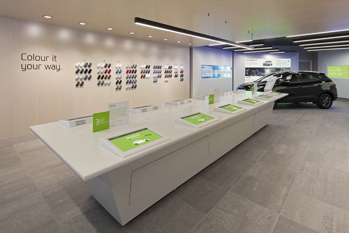 187 Rockar Showroom By Dalziel And Pow Bluewater Uk