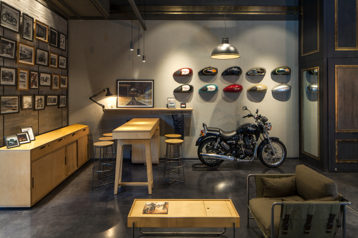Royal Enfield Synonymous With A Biking Legacy In India Is At Par Global Competition The Realm Of Bikers New Store Step To
