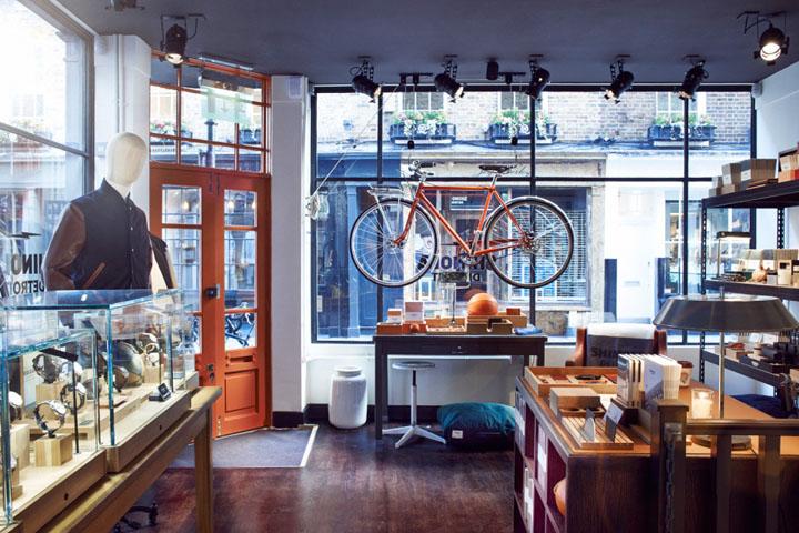 英国伦敦-shinola男士饰品旗舰商店设计
