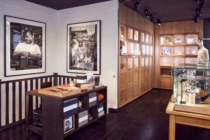 Shinola Flagship Store London Uk 187 Retail Design Blog
