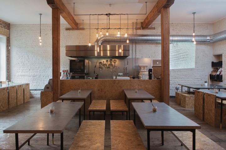 英国布莱顿面包店和咖啡馆综合店设计