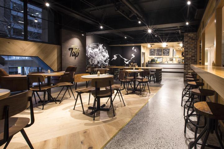 澳大利亚悉尼Tap espresso酒吧设计
