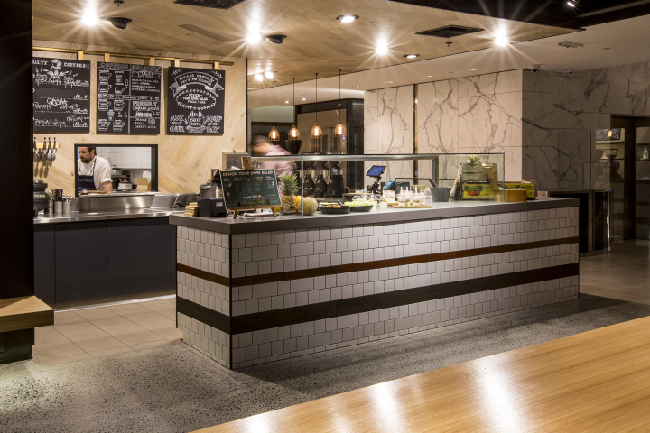 Tap Espresso And Salad Bar By Morris Selvatico, Sydney U2013 Australia