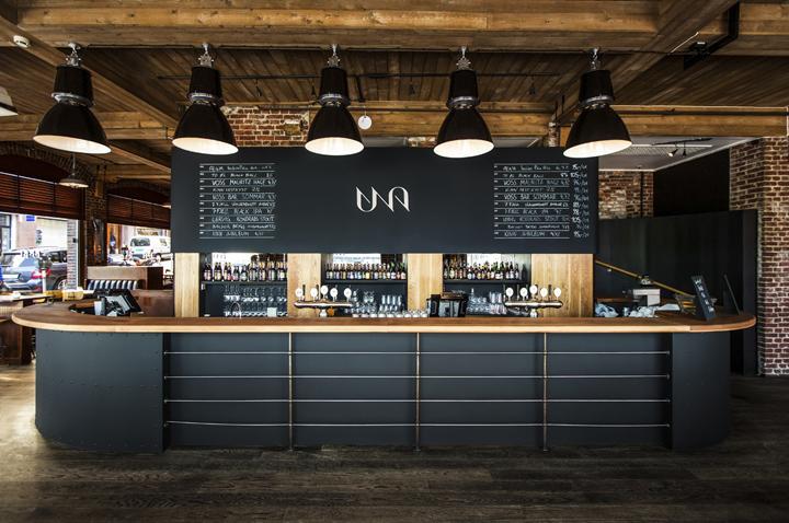 Una Brewery Kitchen Branding By Tom Emil Olsen Retail
