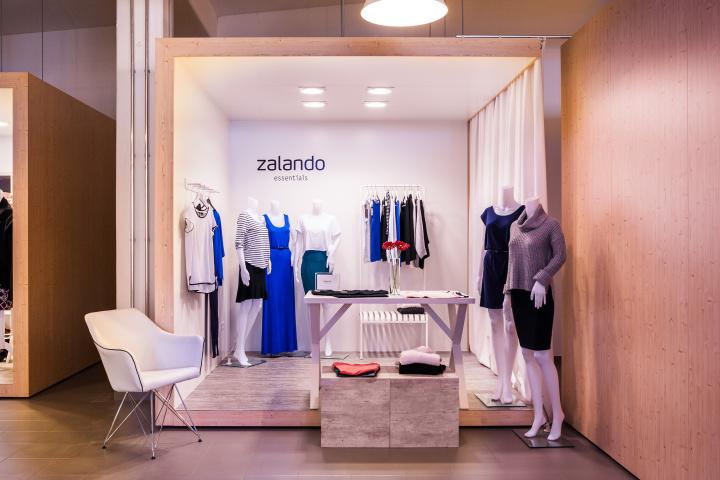 德国柏林Zalando服装展厅设计