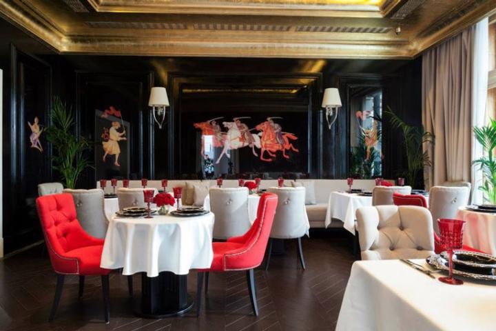 Dr zhivago restaurant by anastasia panibratova moscow