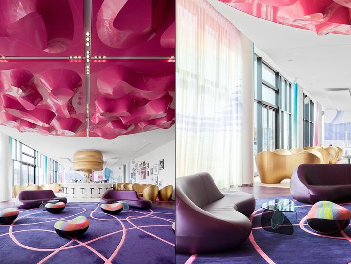 Nhow hotel by sergei tchoban karim rashid berlin for Berlin design