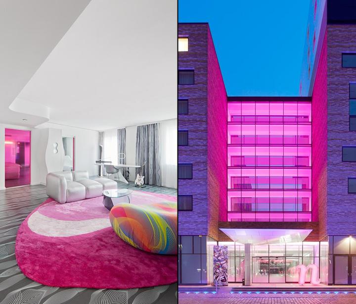 Nhow hotel by sergei tchoban karim rashid berlin for Design hotel eifel germany
