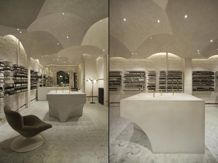 挪威奥斯陆–Aesop伊索店化妆品商店设计
