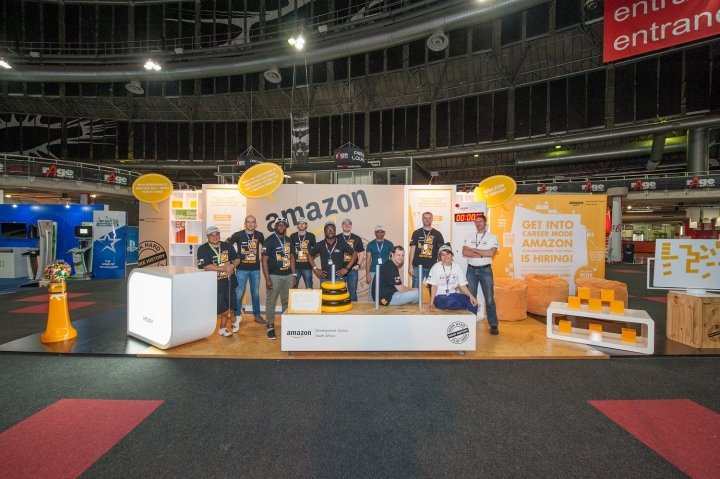 Exhibition Stand Design Johannesburg : Amazon stand at rage expo by hott d johannesburg