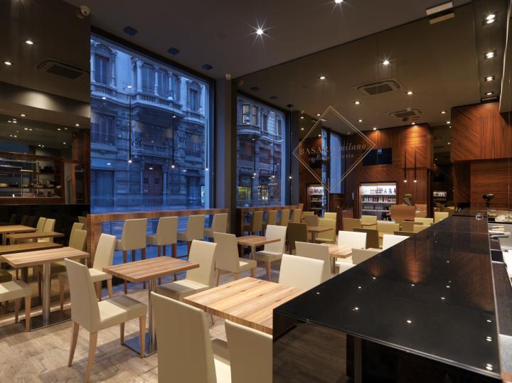 Basara sushi restaurant by andrea langhi design milan