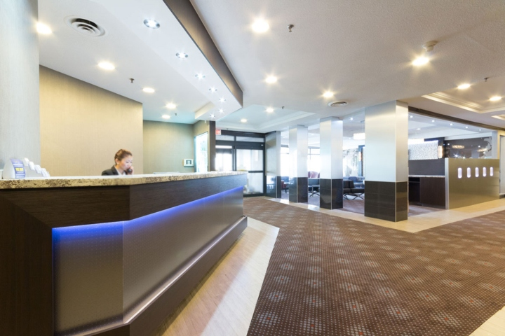 Our Intention With The Lobby Of Best Western Toronto Airport Hotel Was To Embody Experience A World Traveler Into Design Josie Abate