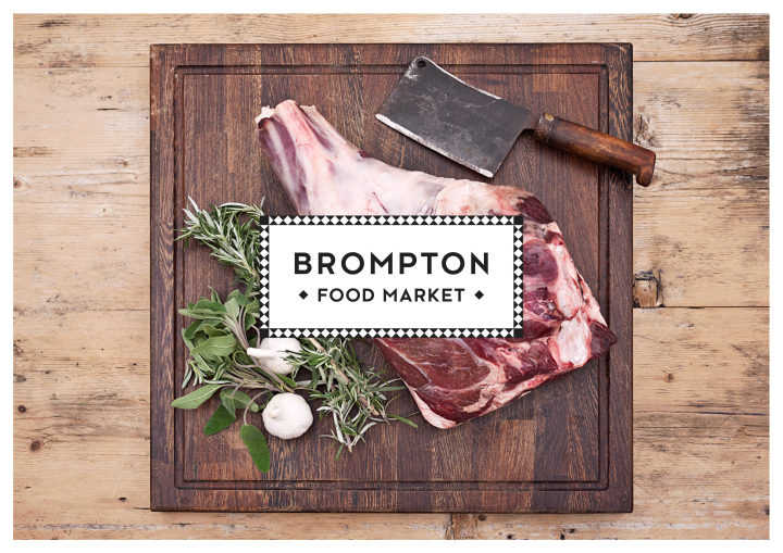 Brompton Food Market brand identity by Design Friendship 02 Brompton Food Market brand identity by Design Friendship
