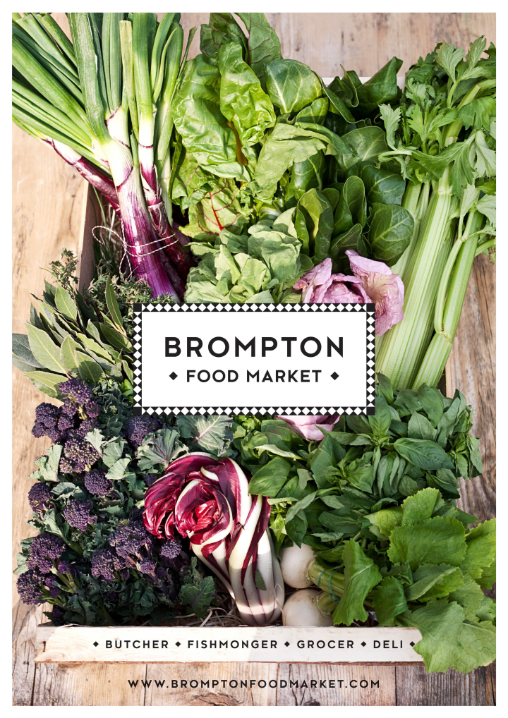 Brompton Food Market brand identity by Design Friendship 04 Brompton Food Market brand identity by Design Friendship