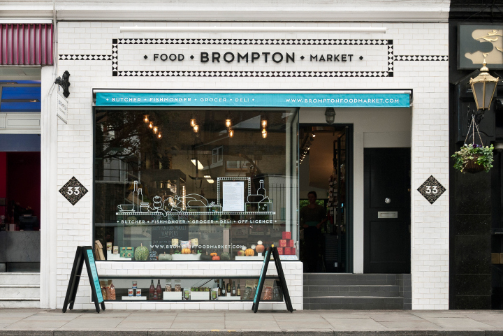Brompton Food Market brand identity by Design Friendship 08 Brompton Food Market brand identity by Design Friendship