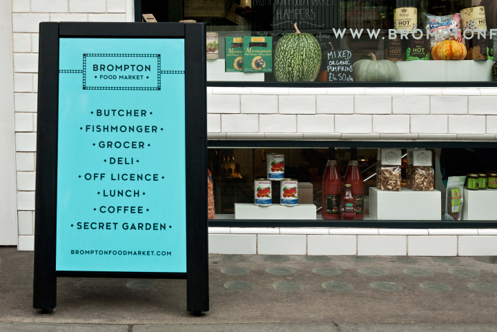 Brompton Food Market brand identity by Design Friendship 11 Brompton Food Market brand identity by Design Friendship