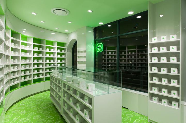 Careland pharmacy by Sergio Mannino Studio, New York City ...