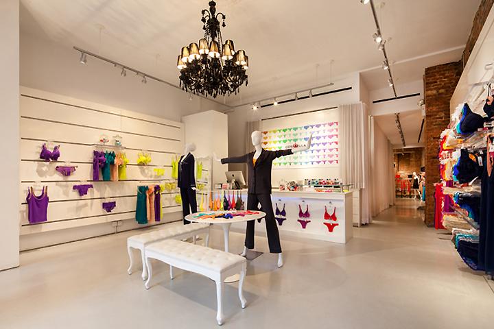 Lingerie retail design blog for High end furniture shops