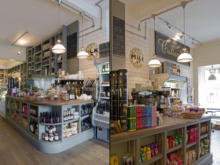 Kitchen Store In House Custom Cullenders Delicatessen & Kitchenthe Vawdrey House Reigate 2017
