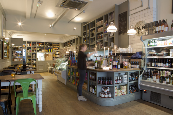 Delicatessen retail design blog for Kitchen design shops