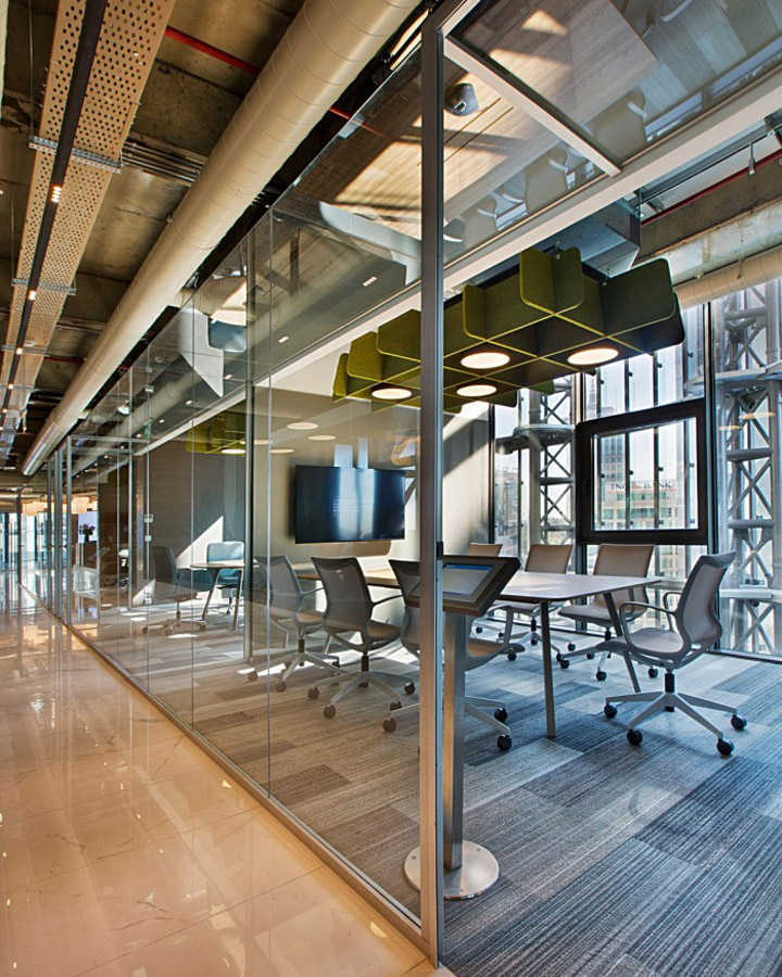 Deloitte headquarters by bak rkure architects istanbul for Office design exhibitions