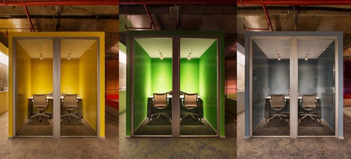 土耳其伊斯坦布尔Deloitte 工业风格办公室设计
