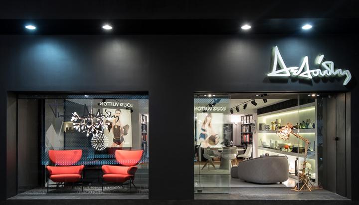 希腊塞萨洛尼基–软装饰品店设计