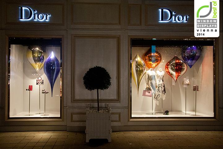 187 Dior Christmas Windows 2014 Vienna Austria