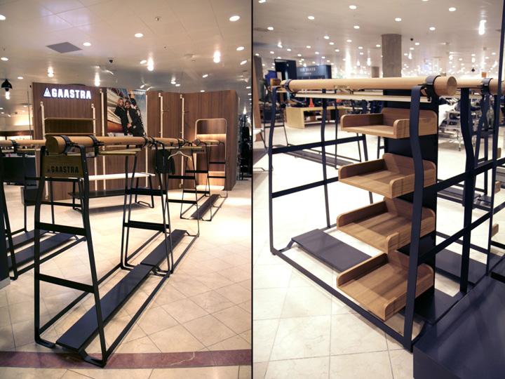 【什么是零售设计】零售设计是一个专注于为零售品牌建立商业设计理念的室内设计的专业领域。它比传统意义上的店面设计更宽泛,还包括了许多特殊的零售类型,比如精品展示店,旗舰店,概念及生活方式店,百货商店柜台,以及其他长期的或者临时的零售环境等。要考虑的工作包括对目标客户中的品牌形象,顾客在店内的活动范围,视觉展示和商品陈列,材料的选择优化等多个要素的强化,从而实现的对零售品牌内涵的扩展延伸。并且会在设计优化工作流程的同时也考虑到客户对储存空间、电子收款机系统和银行办公功能的要求。 【米尚丽软装】本站内容未经书面